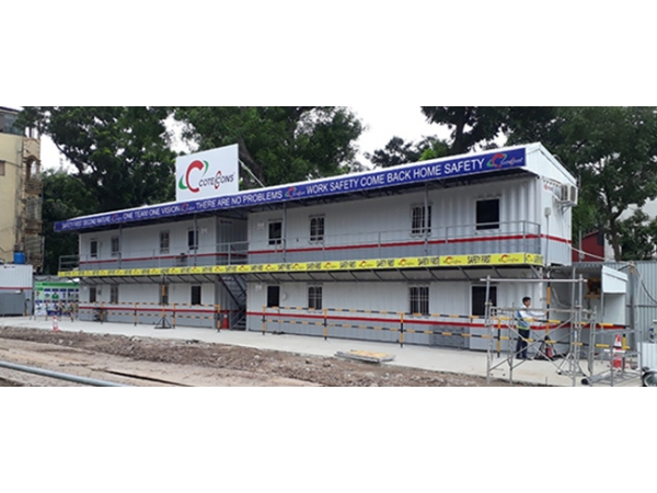 CONTAINER PREFABRICATED HOUSE