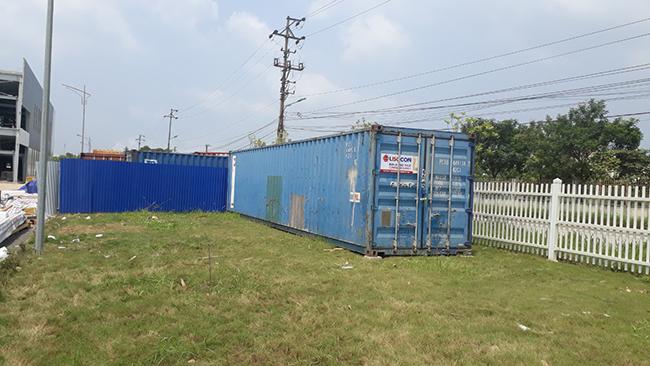 cho thuê container kho