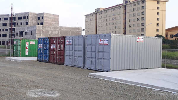 Kích thước container 20