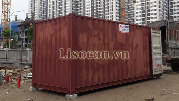 thùng container 20 feet