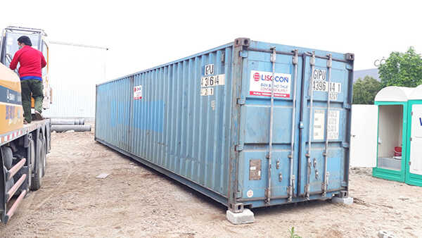 thùng container 40 feet