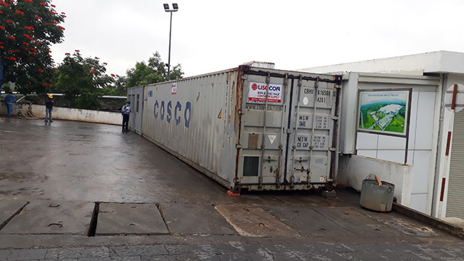 thuê container kho 40